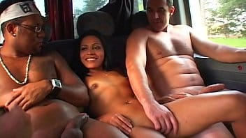 Sexo na van com uma bailarina funkeira