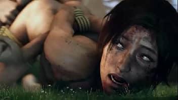 Lara croft hentai compilação transando muito no jogo